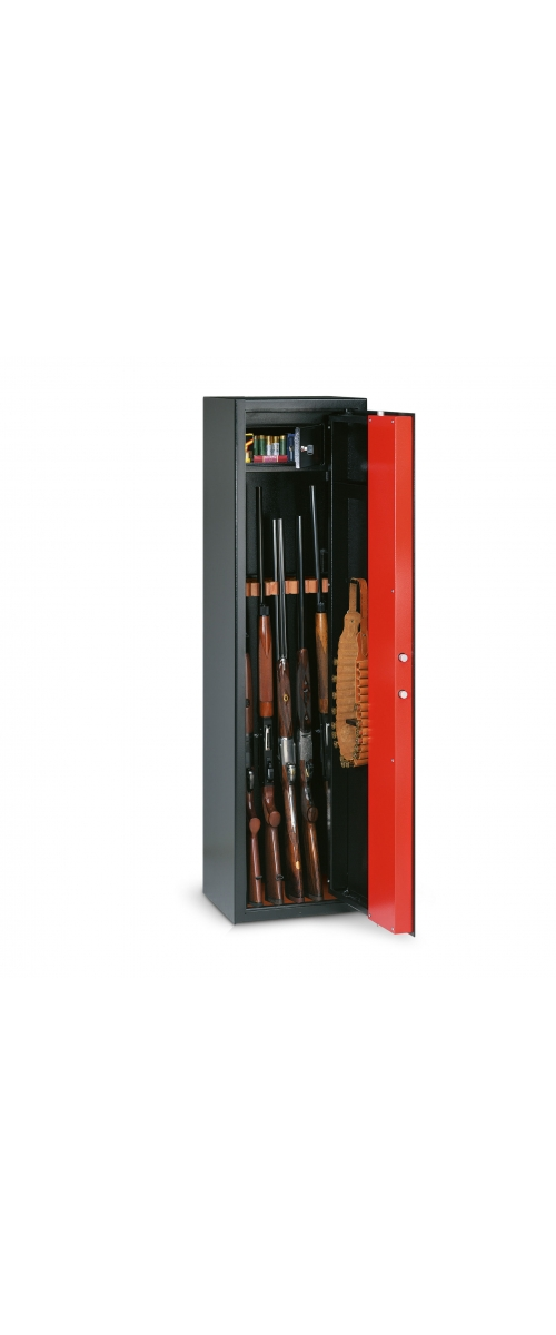 T/505 Armoire à fusils à clé pour 5 fusils - 100 L