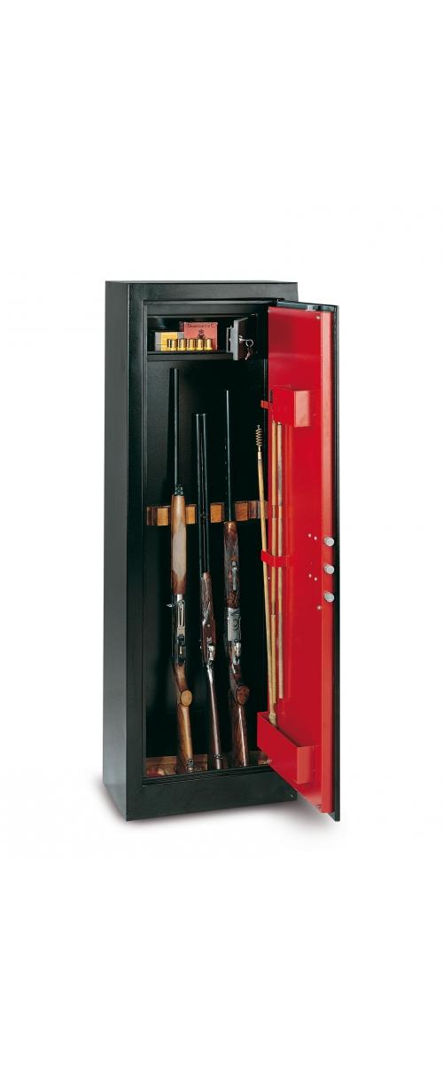 Armoire à fusils à clé pour 11 fusils - 218 L