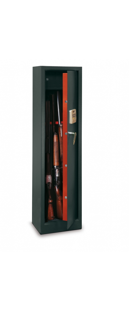Armoire à fusils électronique pour 5 fusils - 119 L