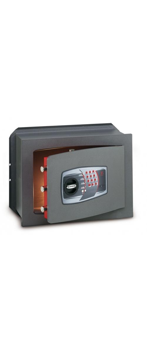 Coffre-fort à emmurer électronique - 27 L