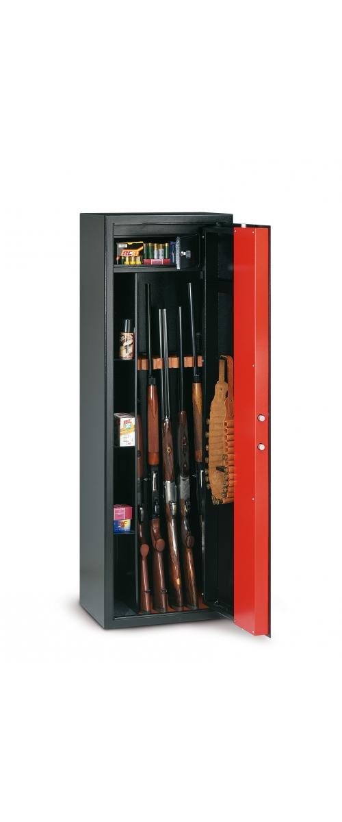 T/709 Armoire à fusils à clé pour 9 fusils - 180 L