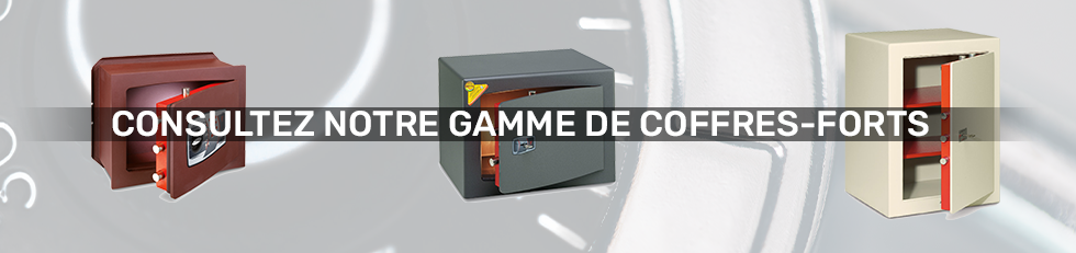 Gamme coffres-forts